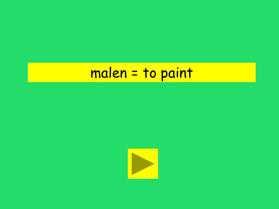 Du malst wie Picasso! to paint to look liketo know