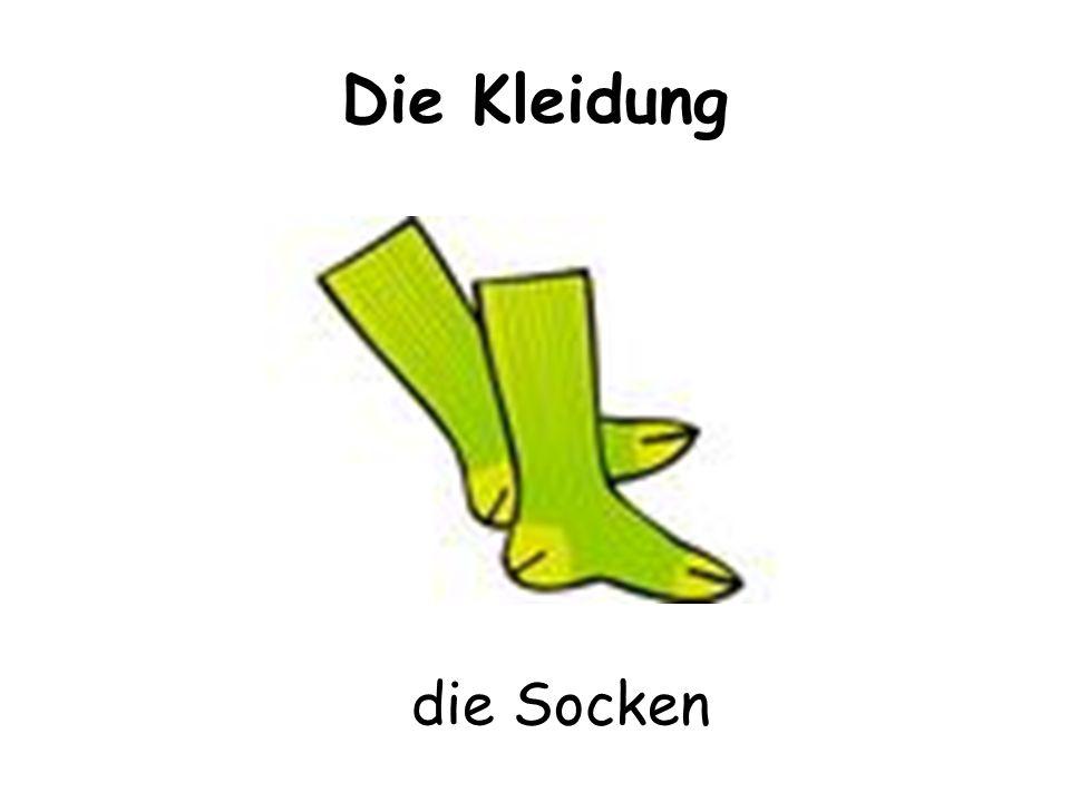 Die Kleidung die Socken