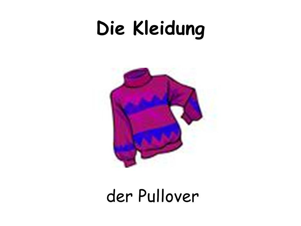 Die Kleidung der Pullover