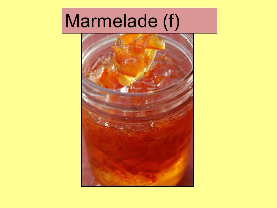 Marmelade (f)