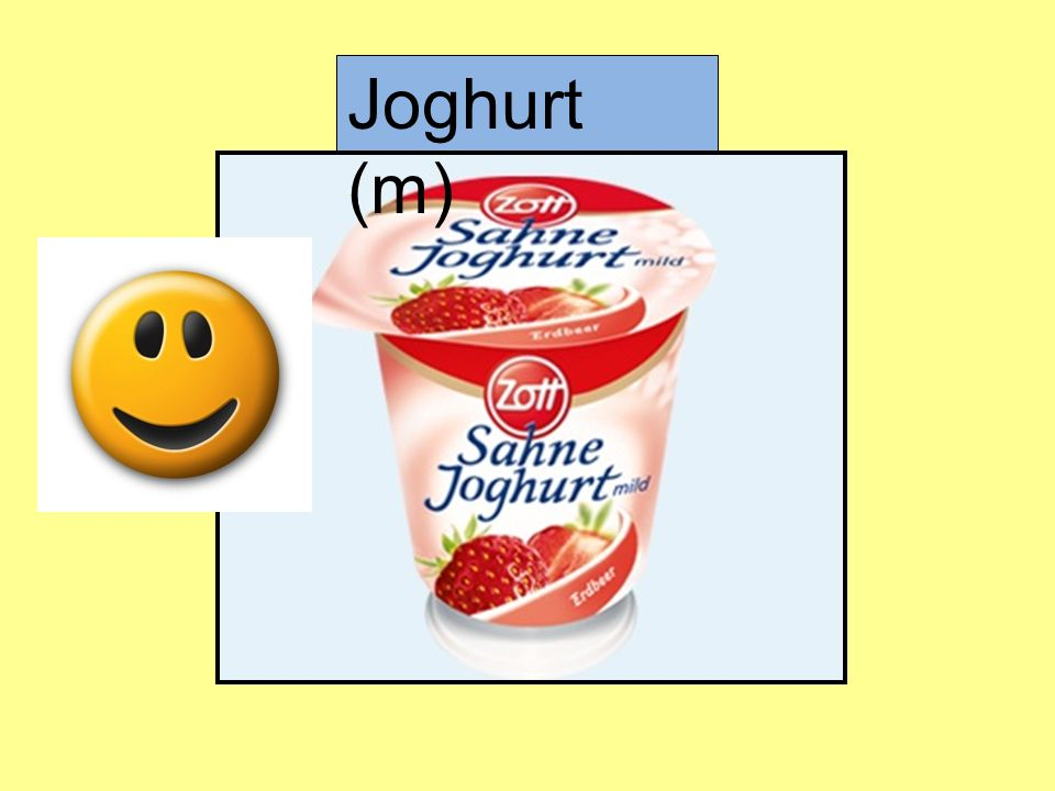 Joghurt (m)