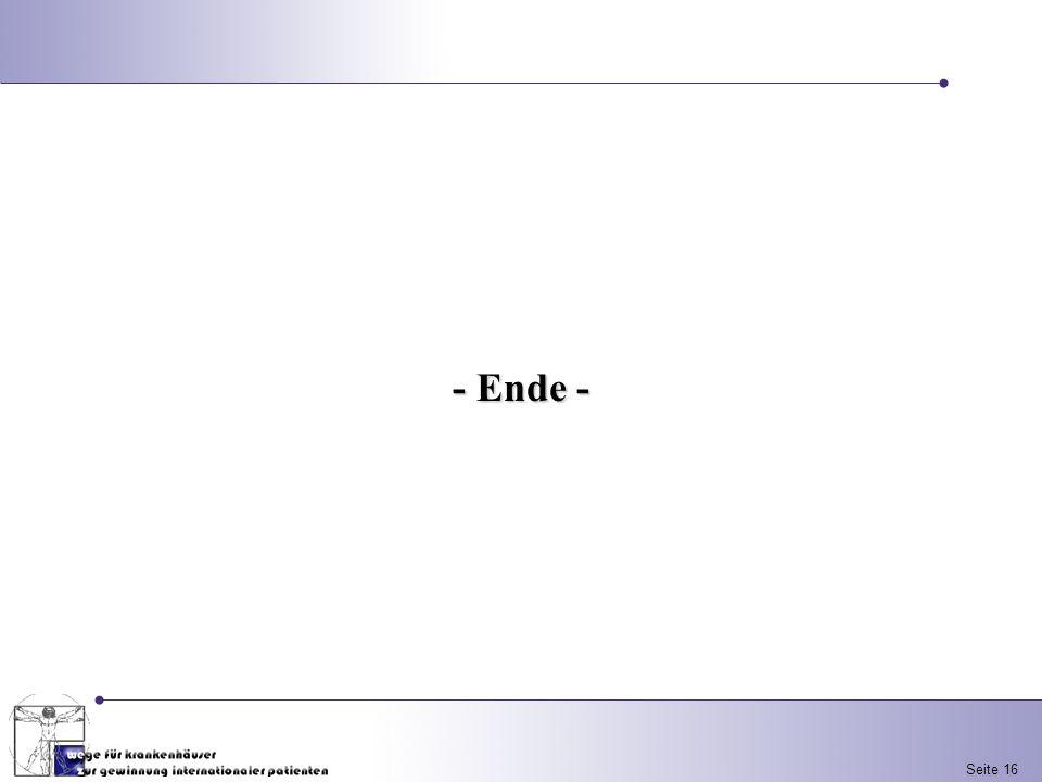 Seite 16 - Ende -