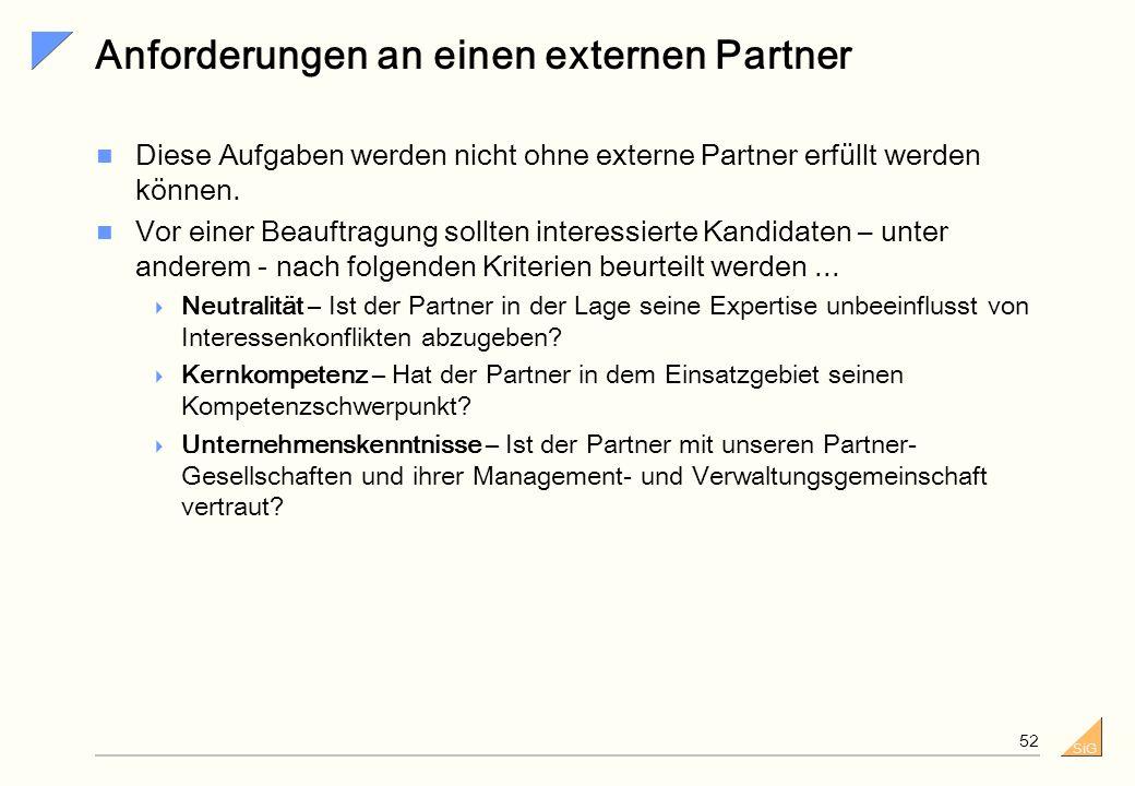SiG 51 Projektstruktur – IT-Strategie Lenkungsgremium Gesamtvorstand, Strategische Unternehmensentwicklung Lenkungsgremium Gesamtvorstand, Strategisch