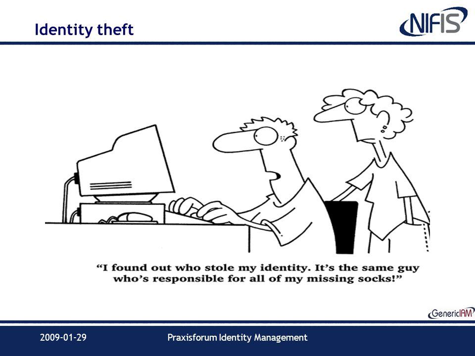 2009-01-29Praxisforum Identity Management Identity theft