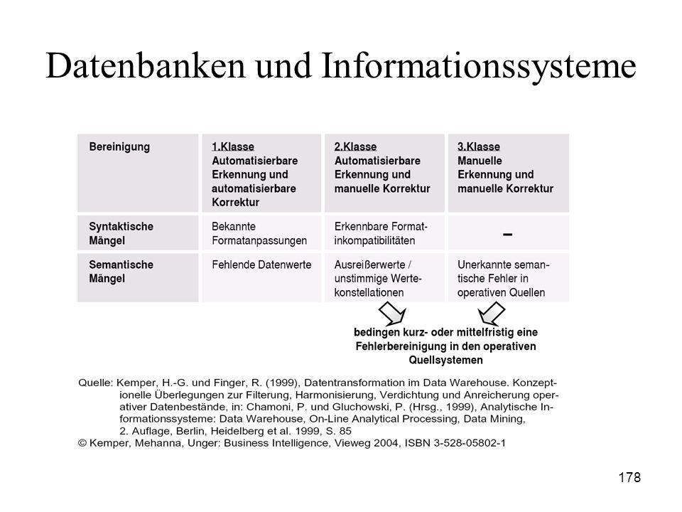 178 Datenbanken und Informationssysteme