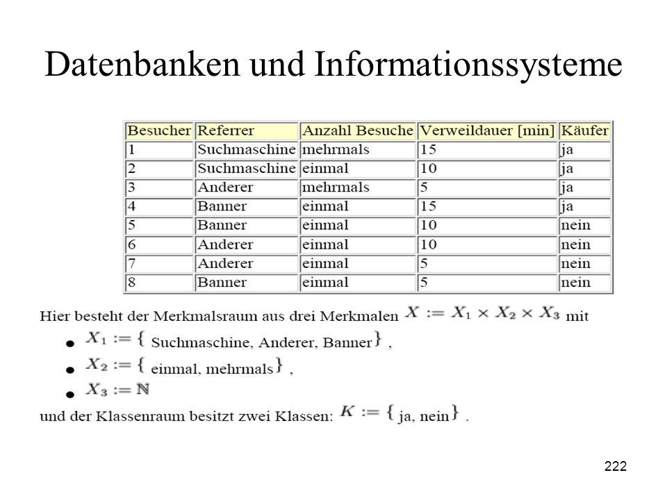 222 Datenbanken und Informationssysteme