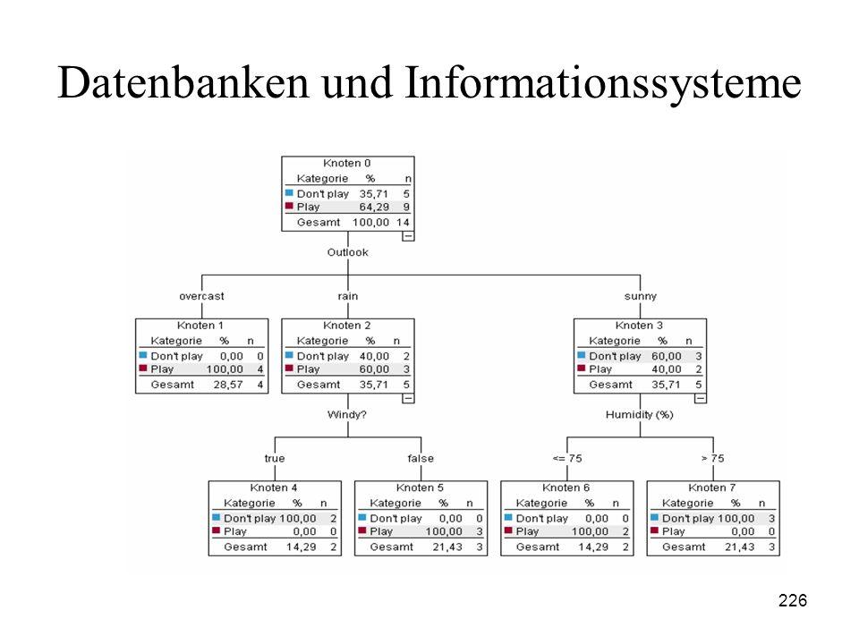 226 Datenbanken und Informationssysteme