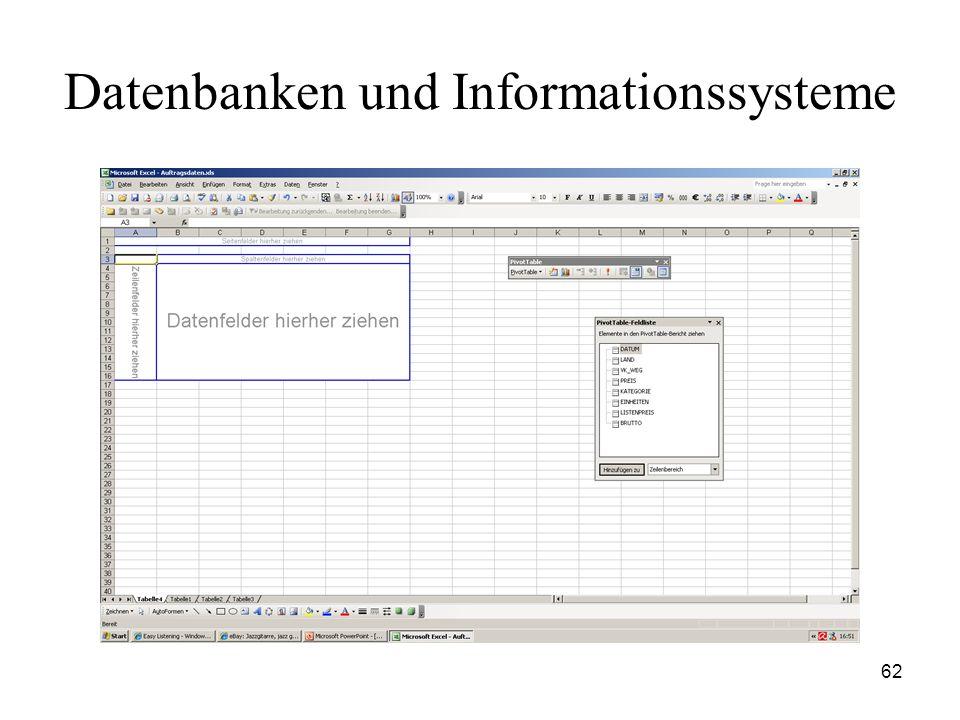 62 Datenbanken und Informationssysteme