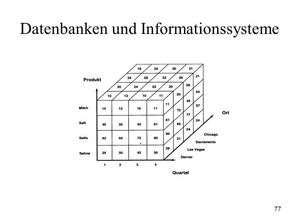 77 Datenbanken und Informationssysteme