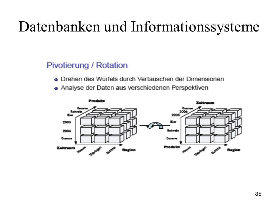 85 Datenbanken und Informationssysteme