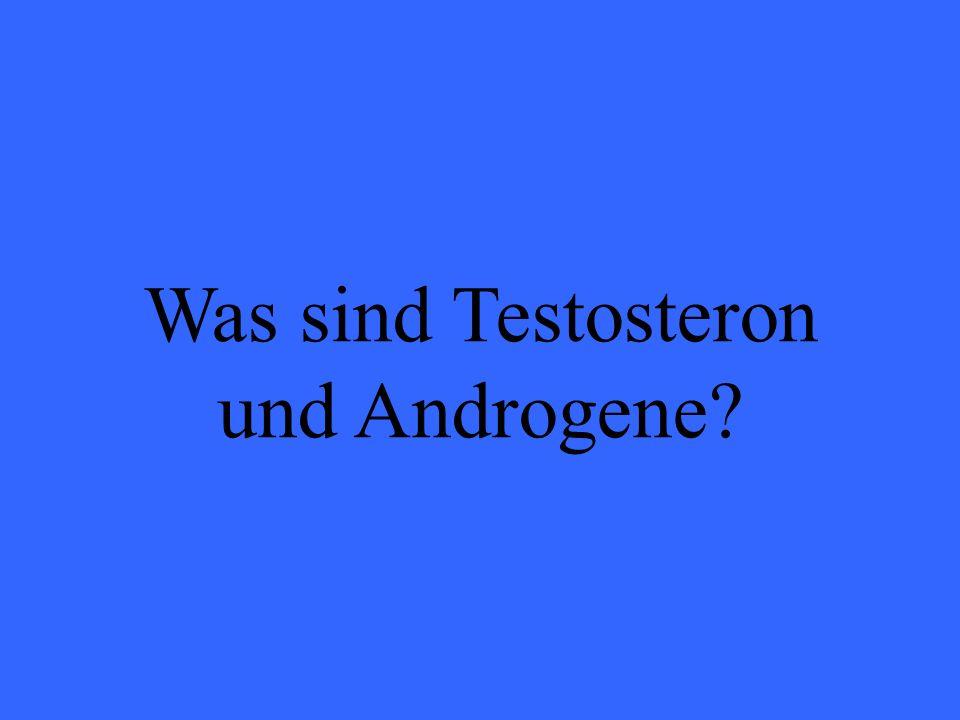 Was sind Testosteron und Androgene?