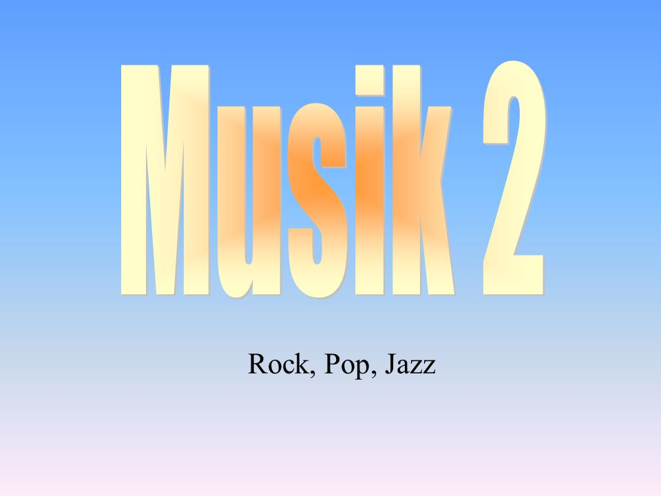 3,1 Woher kommen die Instrumente des Jazz.Nenne zwei typische Instrumente.