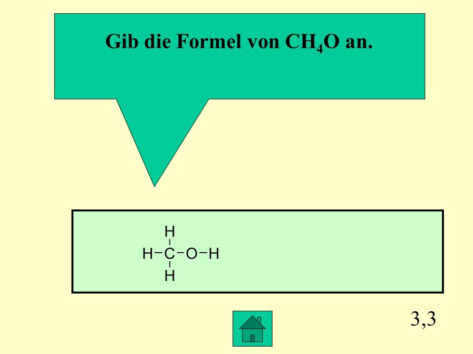 3,2 Welche Bindung liegt in der Regel vor, wenn eine Verbindung bei Normalbedingungen gasförmig ist? Es handelt sich meistens um eine Elektronenpaarbi