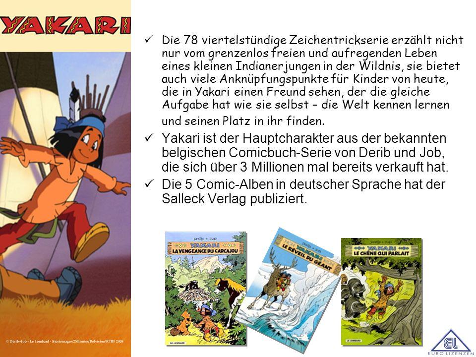 Die 78 viertelstündige Zeichentrickserie erzählt nicht nur vom grenzenlos freien und aufregenden Leben eines kleinen Indianerjungen in der Wildnis, si