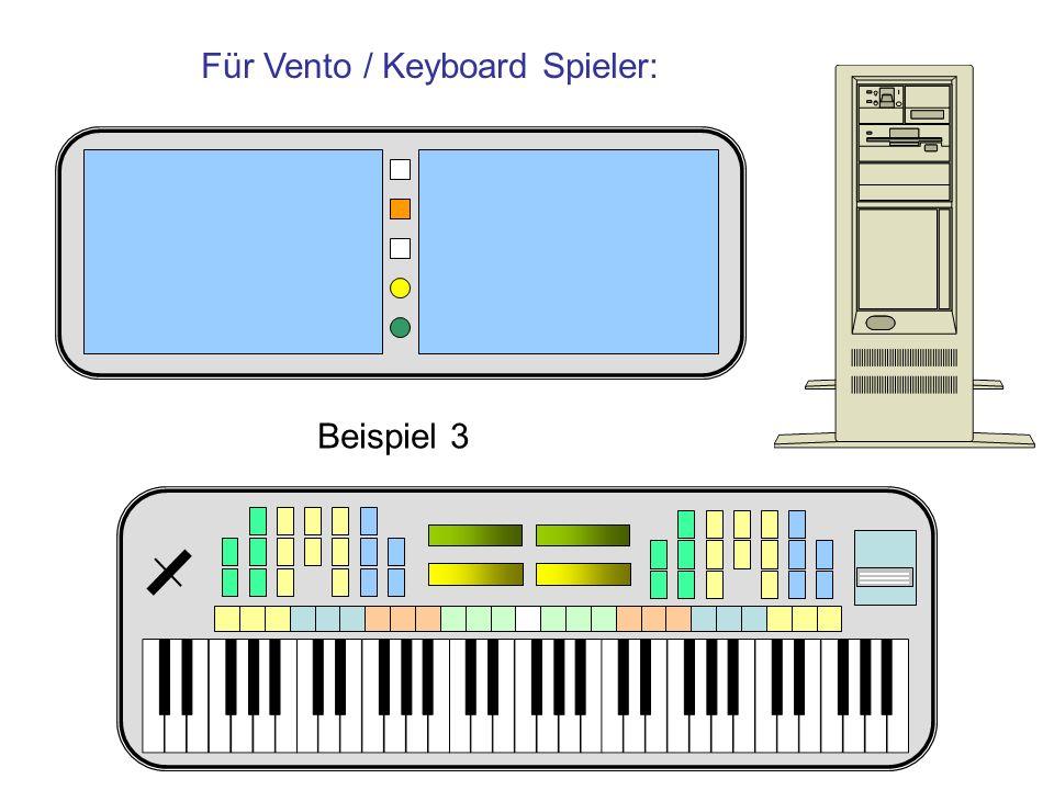 Für Vento / Keyboard Spieler: Beispiel 3