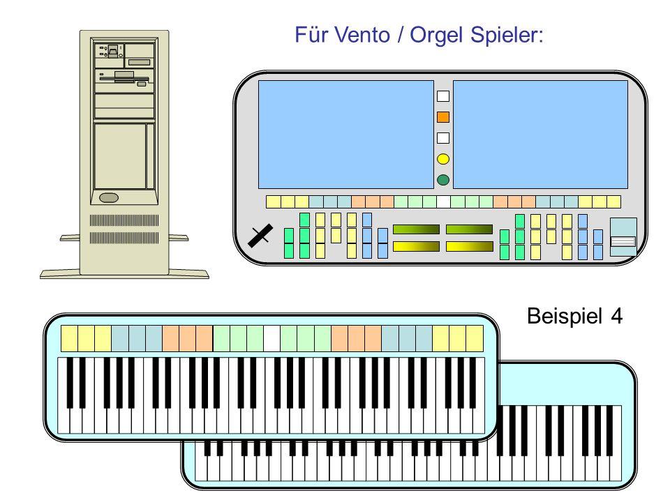 Für Vento / Orgel Spieler: Beispiel 4