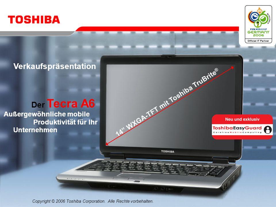 März 200621/Tecra A6 Mit Toshiba...Wireless LAN-Netzwerke werden über eine intuitive Benutzeroberfläche im Handumdrehen ermittelt Neue Version v5.7