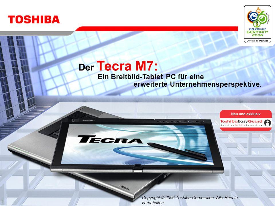 Juli 200621/Tecra M7 Dokumente mit Digital Ink mit Anmerkungen versehen und neue Ideen skizzieren Der Tecra M7 is the ist ein ideales Werkzeug für Brainstorming.