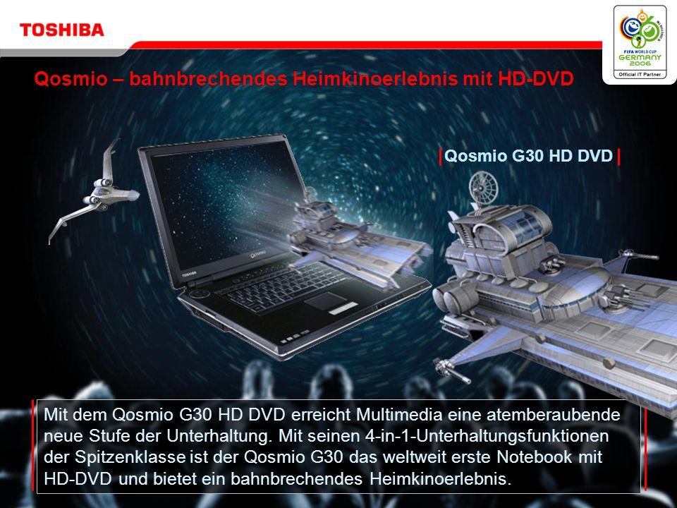Copyright © 2006 Toshiba Corporation. Alle Rechte vorbehalten. Qosmio G30 HD DVD