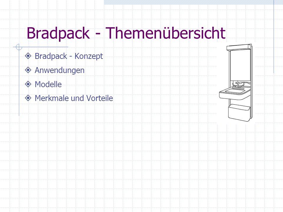 Bradpack - Themenübersicht Bradpack - Konzept Anwendungen Modelle Merkmale und Vorteile
