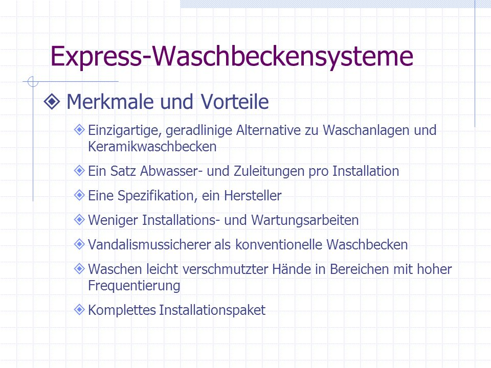 Frequency ®- Waschbeckensystem