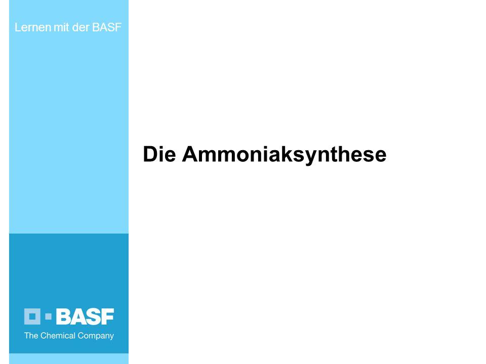 Die Ammoniaksynthese Lernen mit der BASF