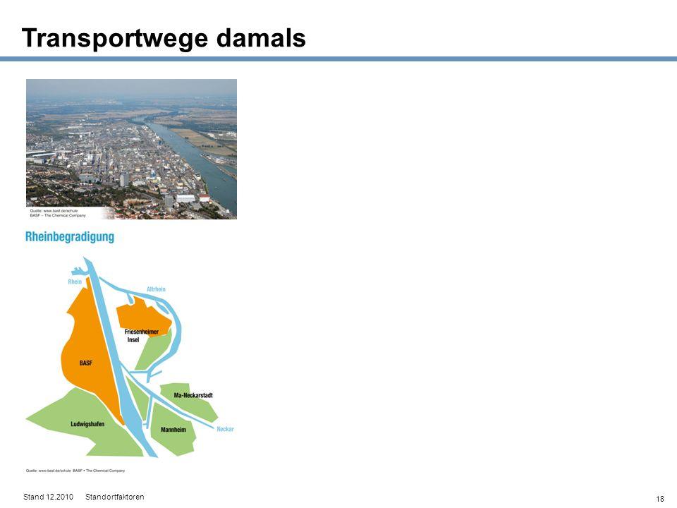 18 Stand 12.2010 Standortfaktoren Transportwege damals