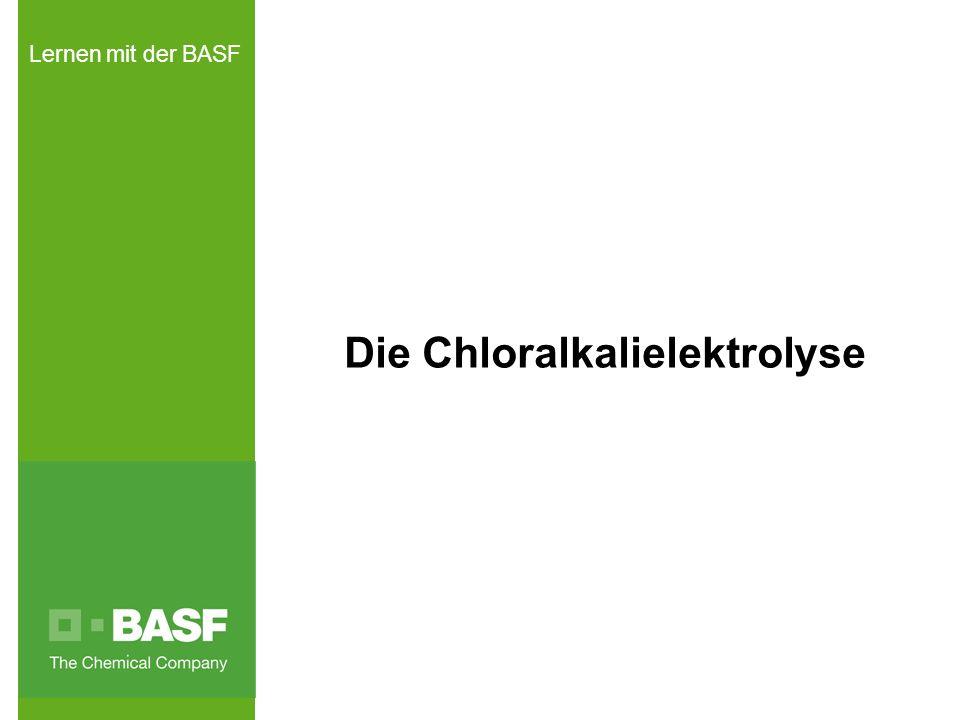 Lernen mit der BASF Die Chloralkalielektrolyse