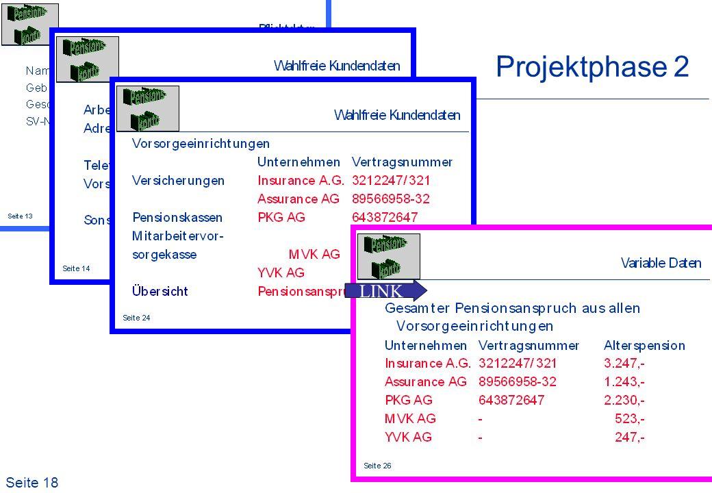 Seite 18 Projektphase 2 LINK