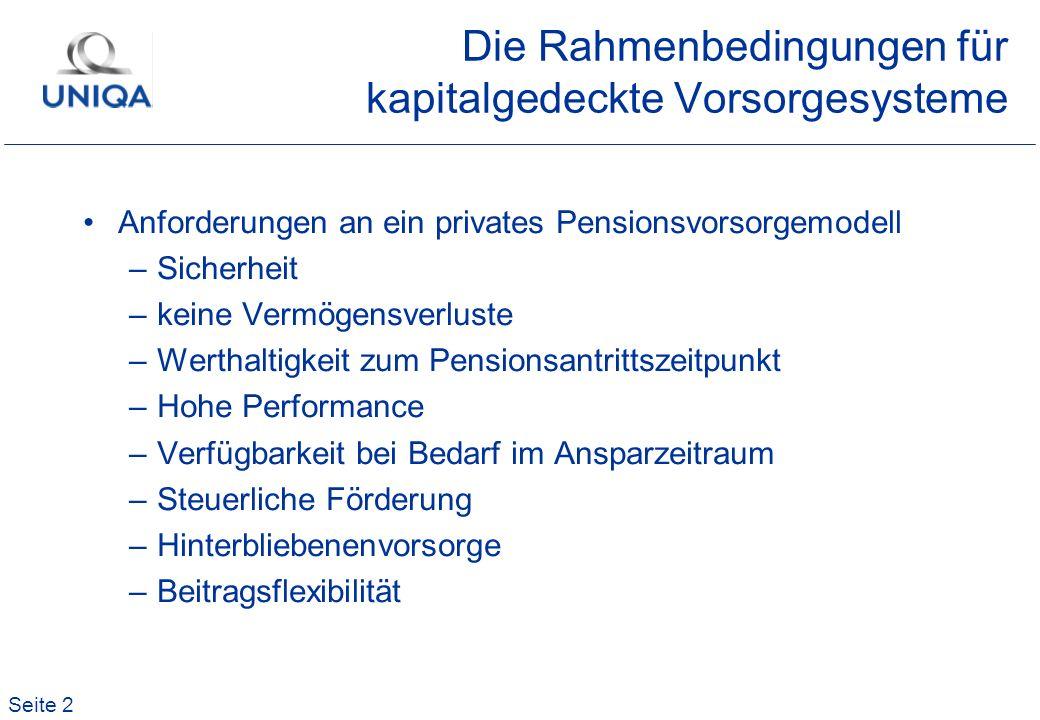 Seite 33 Höhe des Eigenkapitals Balance Sheet versus Bilanz Rechnungslegungsunterschiede nach –Österreichischer Rechnungslegung –IAS Die ROE-Erwartung der Eigentümer wird sich mittelfristig auf das Eigenkapital und Ergebnis nach IAS beziehen