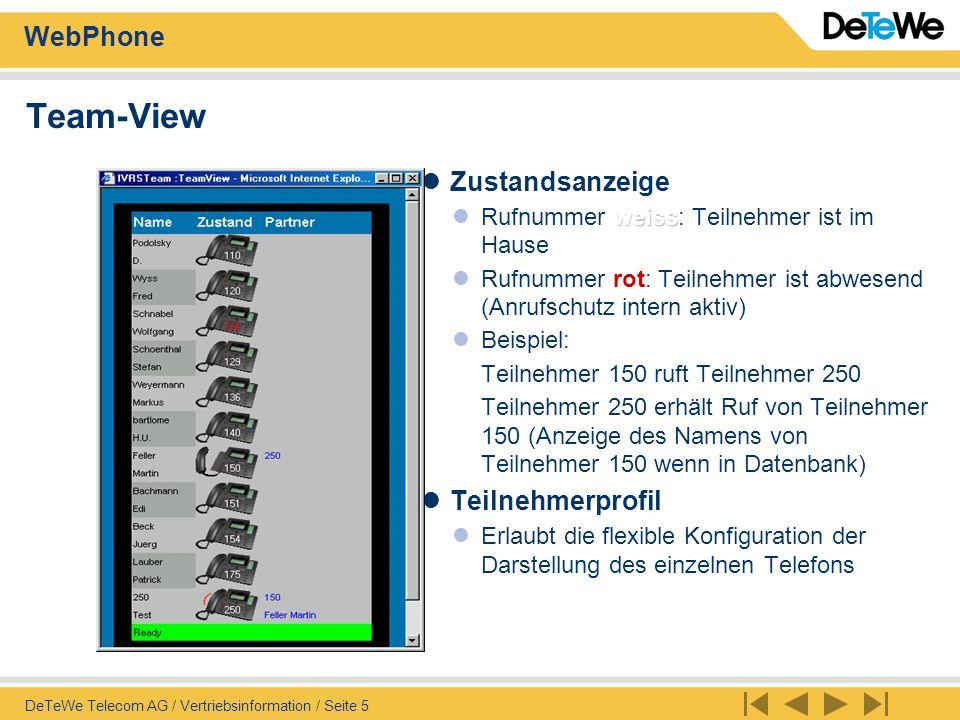 WebPhone DeTeWe Telecom AG / Vertriebsinformation / Seite 6 Message Server Empfangen und Absenden einer Message Beim Eintreffen einer Meldung ertönt am PC ein Klingelzeichen - Soundkarte .