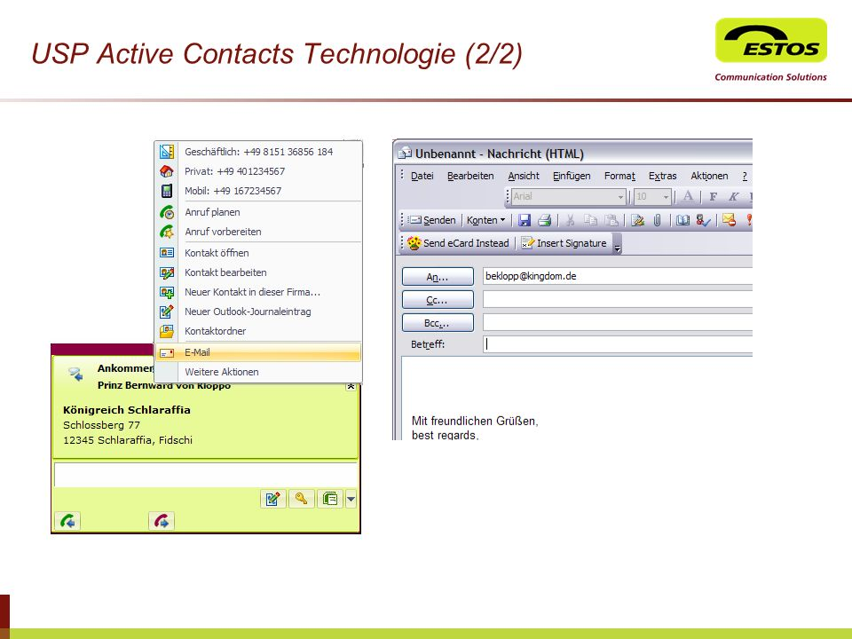 USP Active Contacts Technologie (2/2)