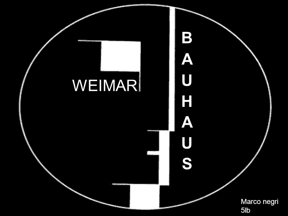 Das Bauhaus war eine staatliche Schule für Architektur und angewandte Kunst, die von Walter Gropius in 1919 in Weimar gegründet worden war.