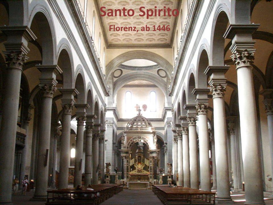 Santo Spirito Florenz, ab 1446