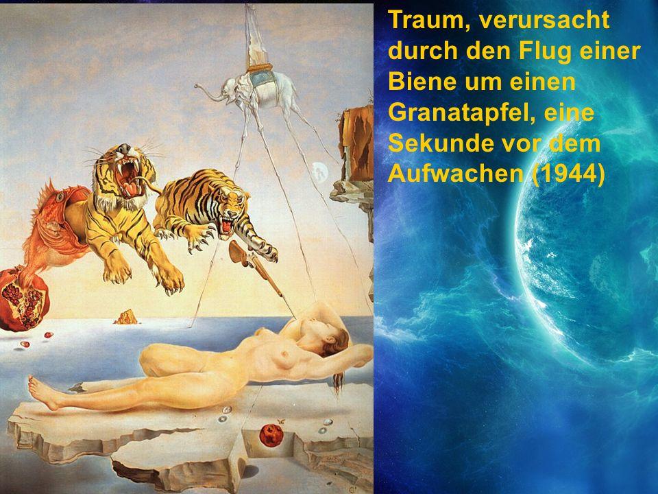 Traum, verursacht durch den Flug einer Biene um einen Granatapfel, eine Sekunde vor dem Aufwachen (1944)