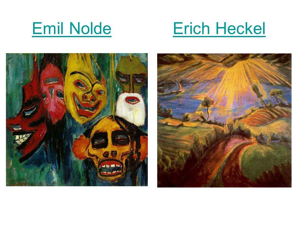 Emil Nolde Erich HeckelEmil NoldeErich Heckel