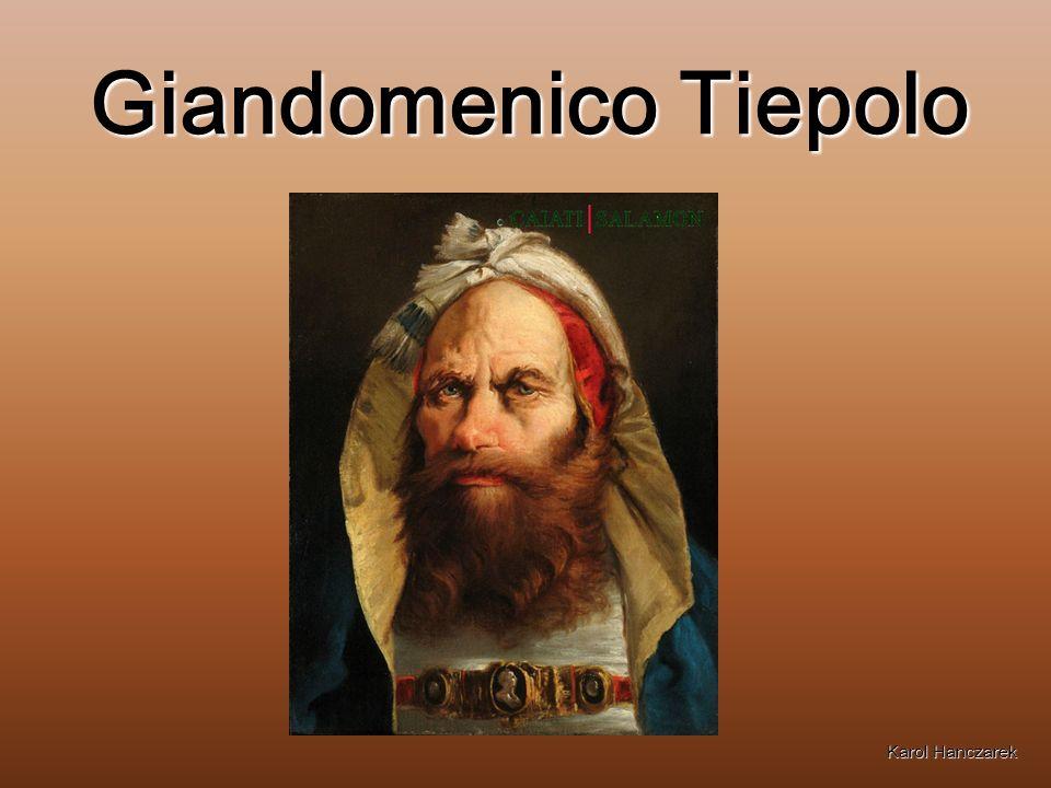 Giandomenico Tiepolo Karol Hanczarek