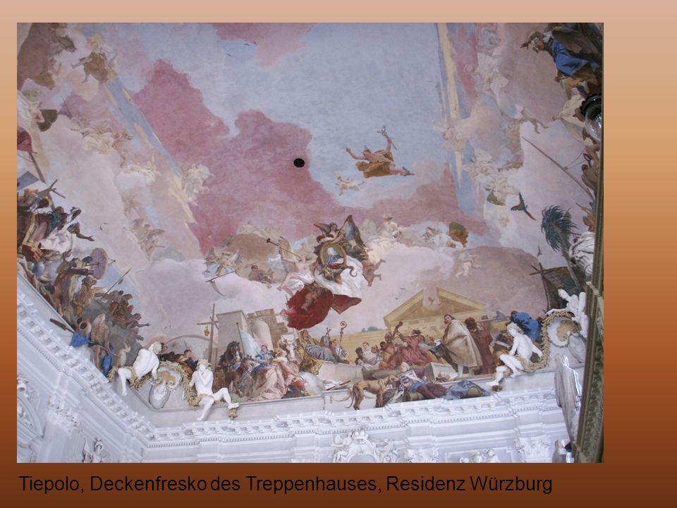 Tiepolo, Deckenfresko des Treppenhauses, Residenz Würzburg