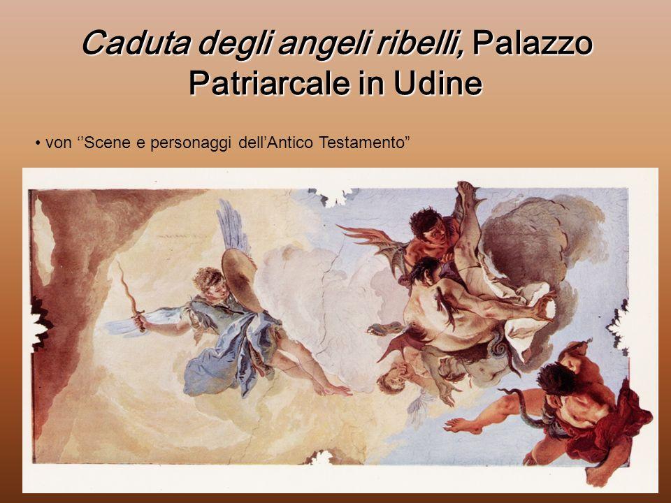 Caduta degli angeli ribelli, Palazzo Patriarcale in Udine von Scene e personaggi dellAntico Testamento