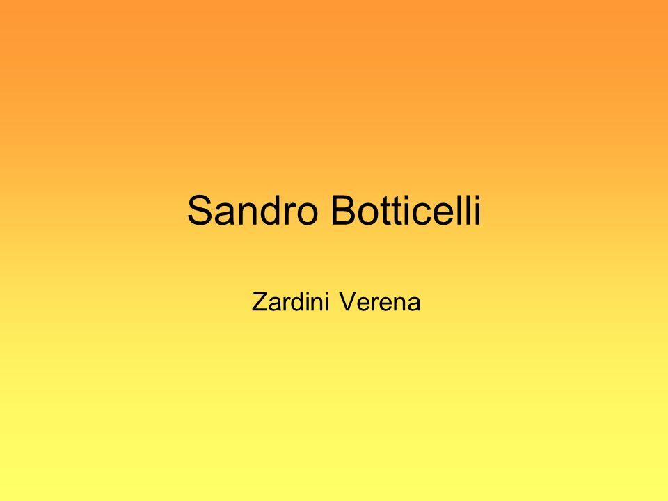 Sandro Botticelli Zardini Verena
