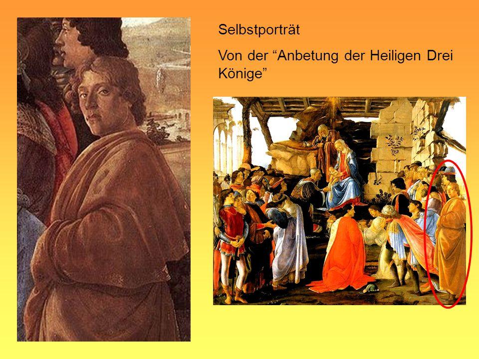 Selbstporträt Von der Anbetung der Heiligen Drei Könige