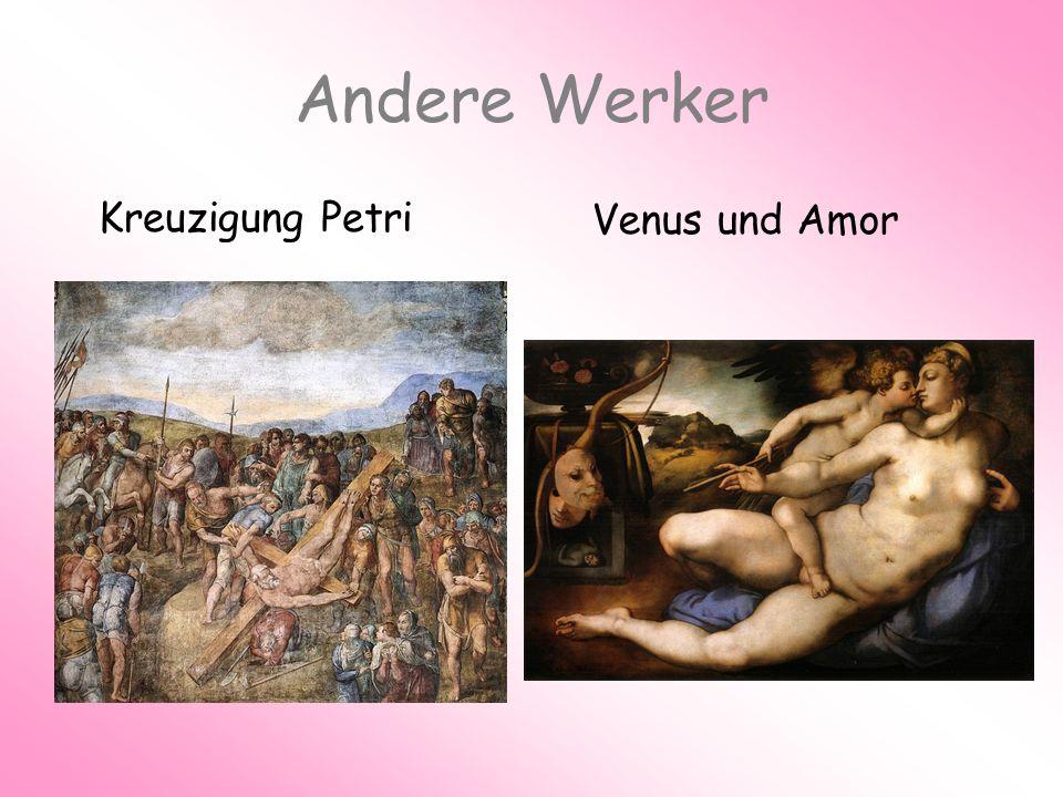 Andere Werker Kreuzigung Petri Venus und Amor