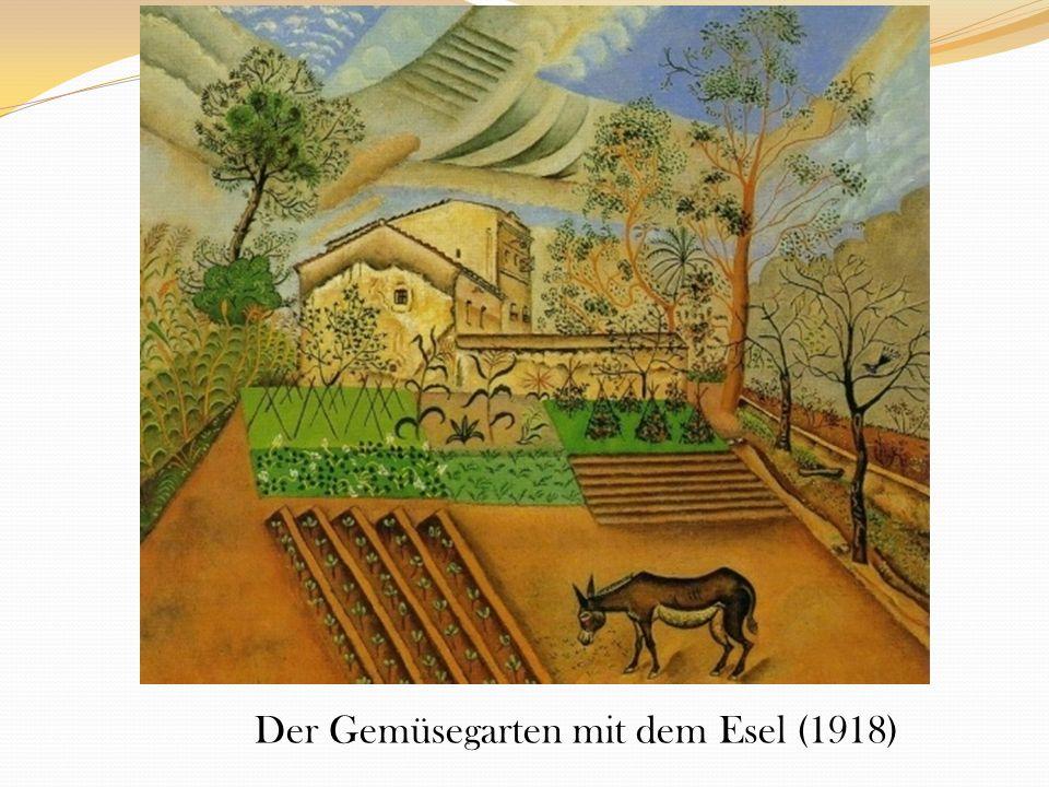 Der Gemüsegarten mit dem Esel (1918)