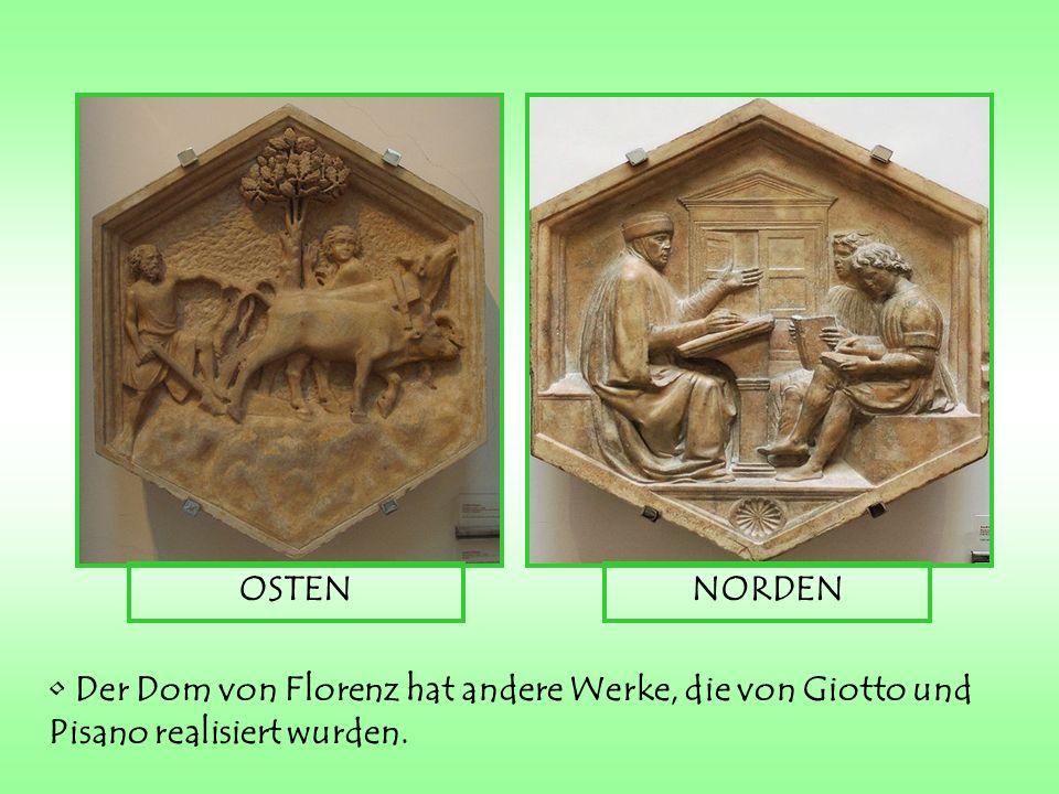 In PISA: SANTA MARIA DELLA SPINA KIRCHE: Er restaurierte und verschönerte einige Elemente, wie 3 Türme über dem Hochaltar und 4 Statuen.
