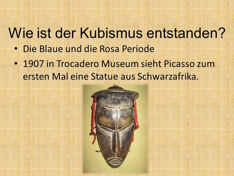 Wie ist der Kubismus entstanden.
