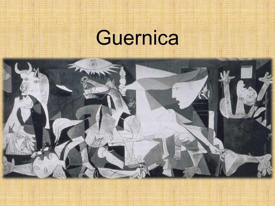 Keine Kuben mehr Zurück zur alten Perspektive Die Figuren sind ungebundenen Das Bild zeigt die Welt im Zweiten Weltkrieg während eines Bombenangriffs.