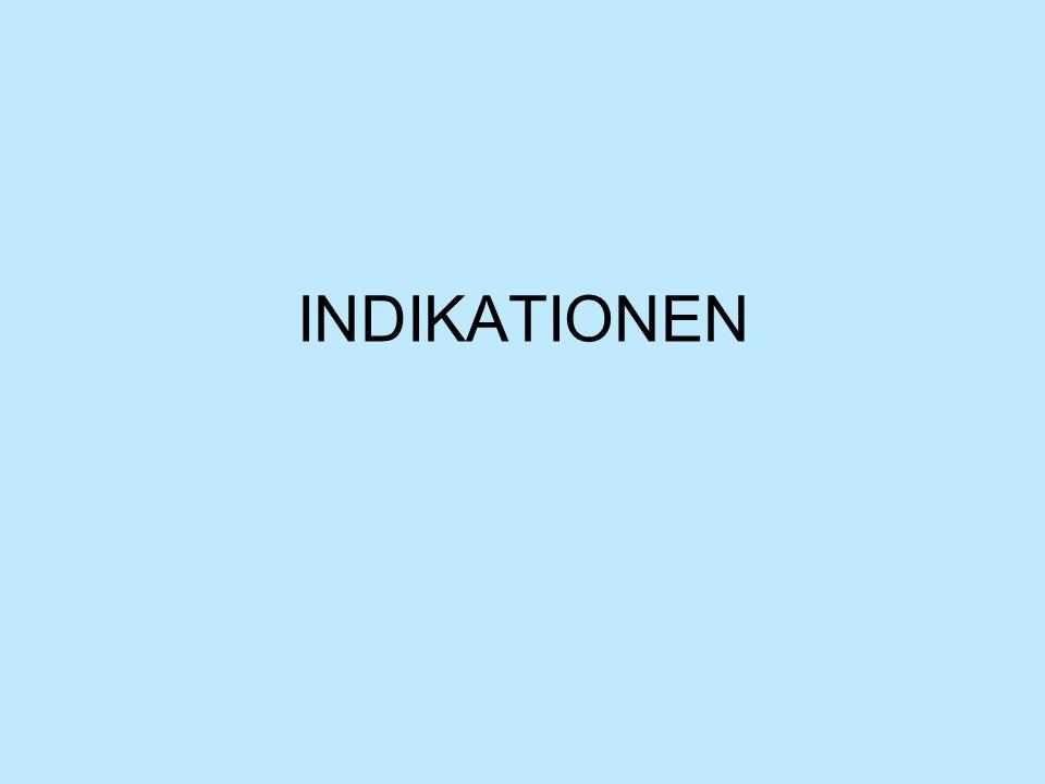 INDIKATIONEN