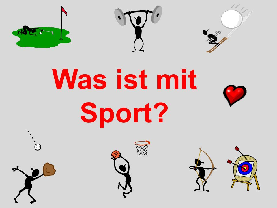 What about sport?