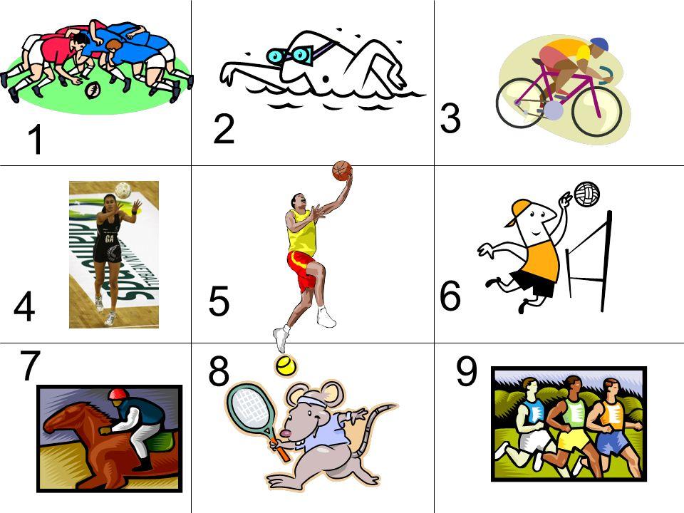 Leichtathletik Rugby Schwimmen Netzball Skilaufen Kricket Radfahren Fu ß ball Tischtennis