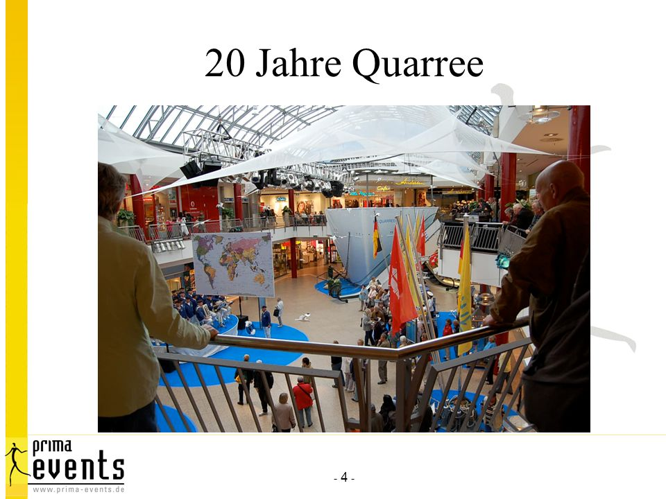 - 4 - 20 Jahre Quarree